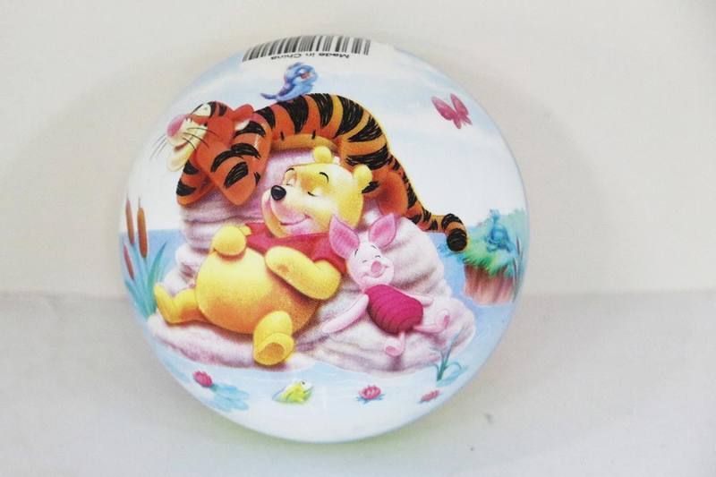 PE Sport Toys Balls 4-inch Pooh Ball No.TA233983