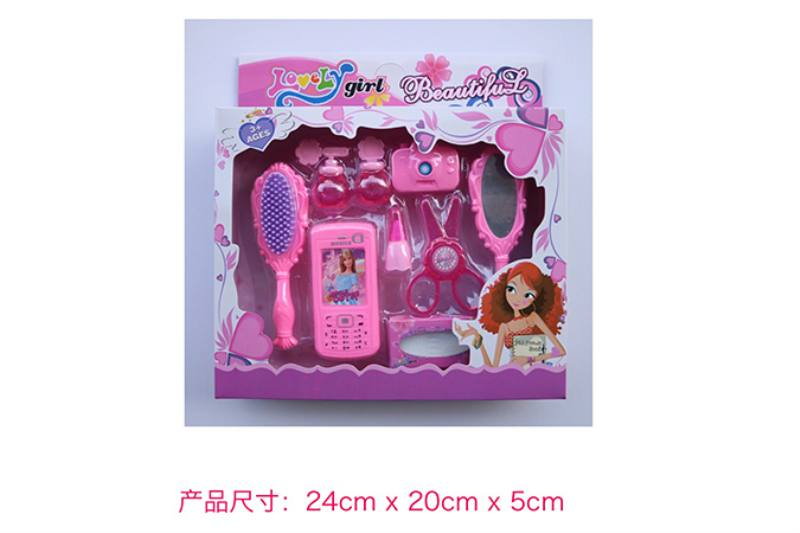 Play house jewelry toy girl makeup dressing toy No.TA253005