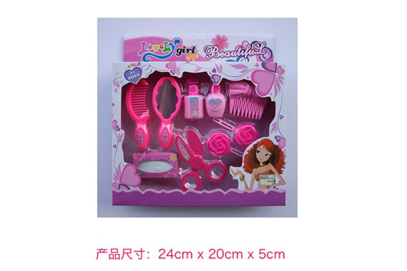 Play house jewelry toy girl makeup dressing toy No.TA253007