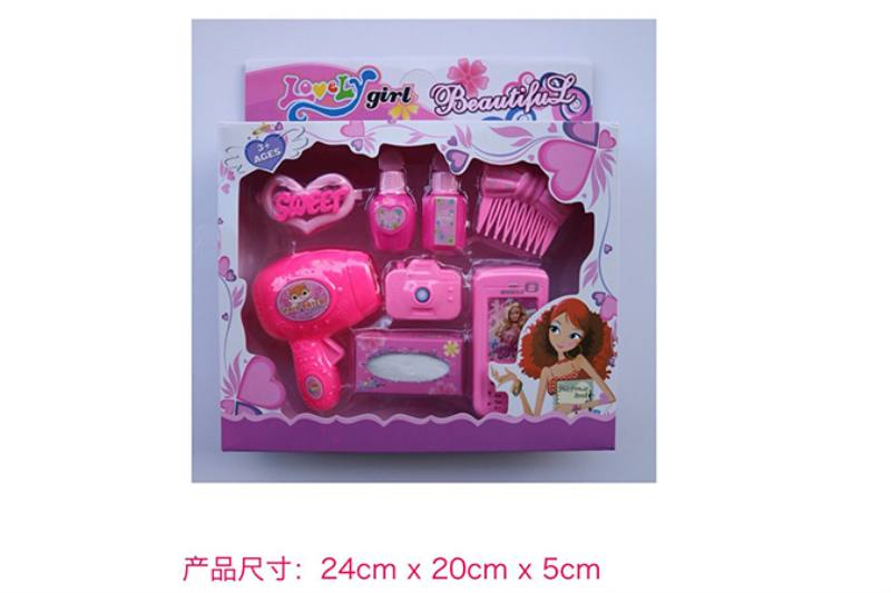 Play house jewelry toy girl makeup dressing toy No.TA253008