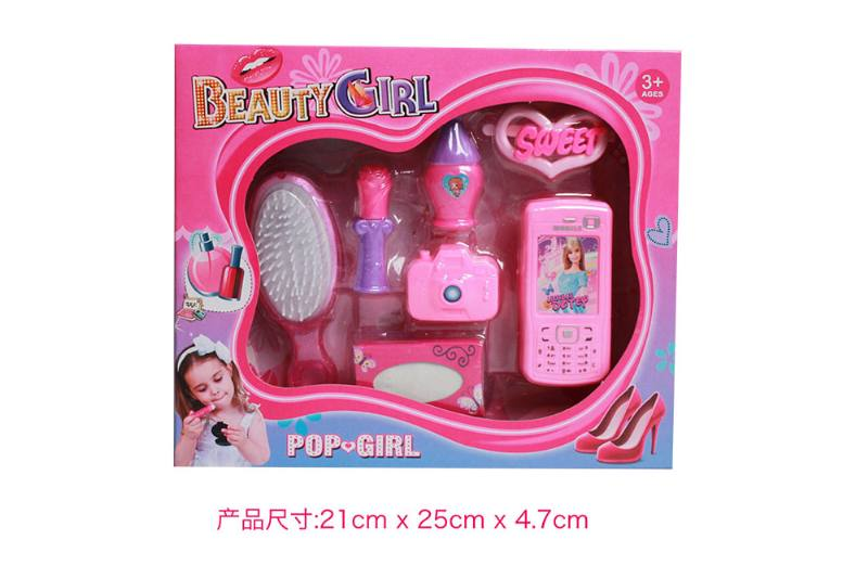 Play house jewelry toy girl makeup dressing toy No.TA253013