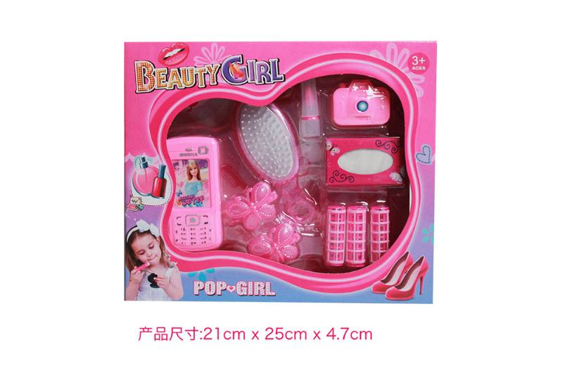 Play house jewelry toy girl makeup dressing toy No.TA253014
