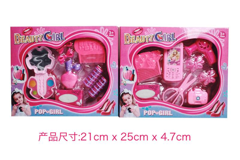 Play house jewelry toy girl makeup dressing toy No.TA253015