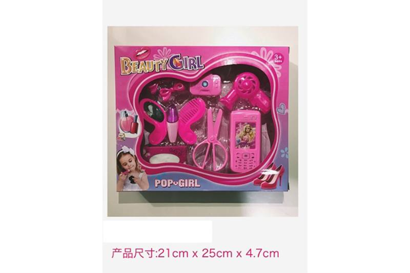 Play house jewelry toy girl makeup dressing toy No.TA253020