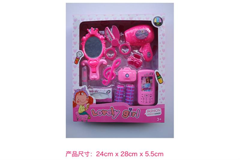 Play house jewelry toy girl makeup dressing toy No.TA253022