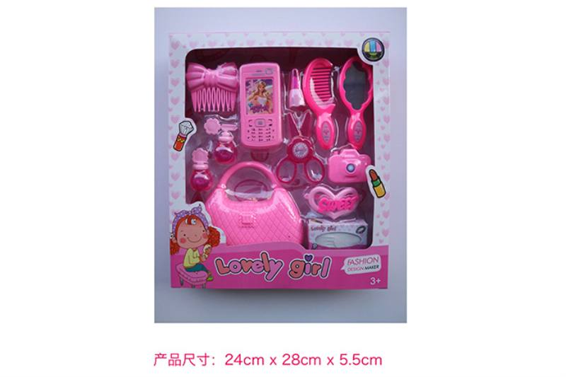 Play house jewelry toy girl makeup dressing toy No.TA253023