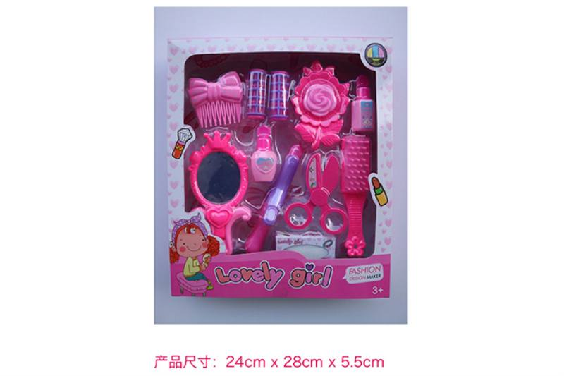 Play house jewelry toy girl makeup dressing toy No.TA253024