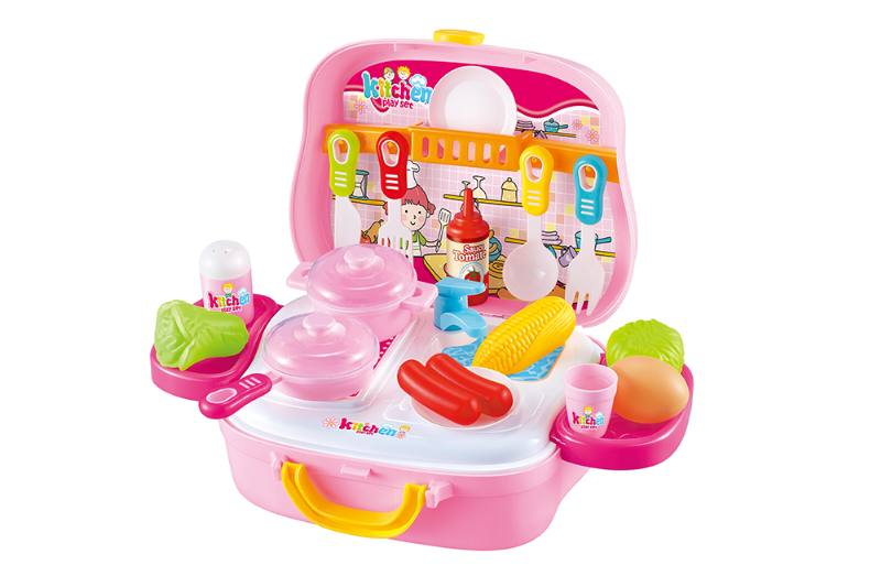 Kitchen carry-on suitcase play houseware game toy No.TA253141