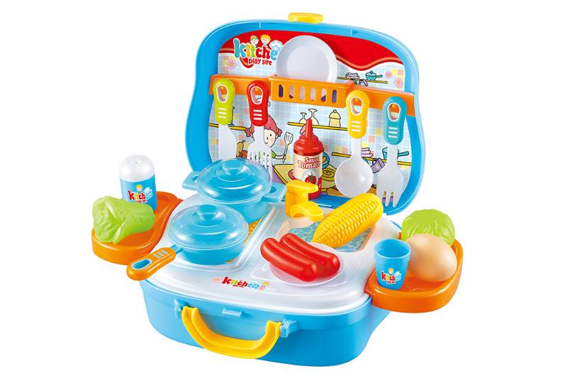 Kitchen carry-on suitcase play houseware game toy No.TA253142