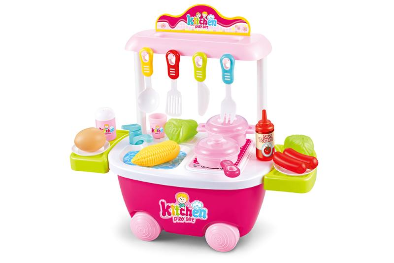 Kitchen trolley, play houseware, game toy No.TA253143