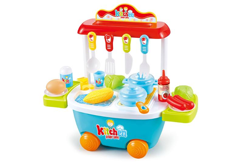 Kitchen trolley, play houseware, game toy No.TA253144