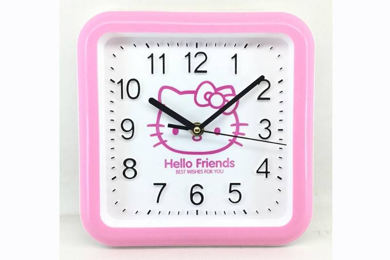 Children's cartoon clock toy series 23cm three-dimensional digital cartoon wall clock No.TA231922