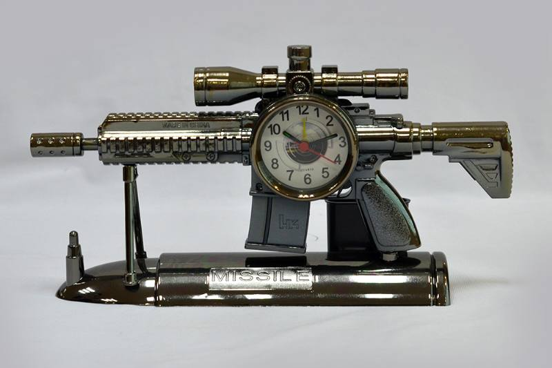 Dock Gold Heavy Machine Gun Alarm Pen Holder (plating) No.TA249194