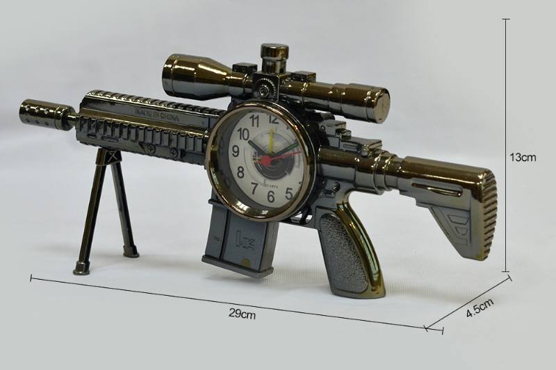 Dock Gold Heavy Machine Gun Alarm (plating) No.TA249195