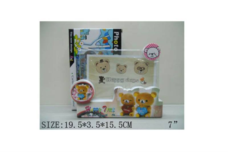 Children's home photo frame photo frame 7 inch bear photo frame (3 mix) No.TA182408