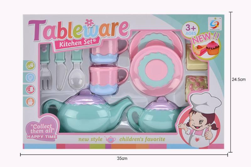 House toy macaron tea set No.TA253928