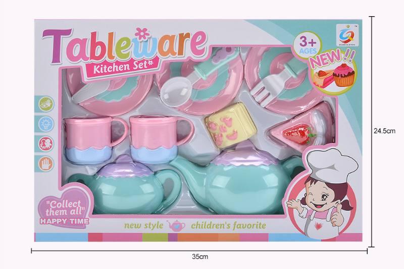 House toy macaron tea set No.TA253929
