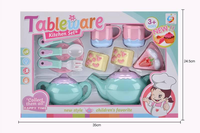 House toy macaron tea set No.TA253930