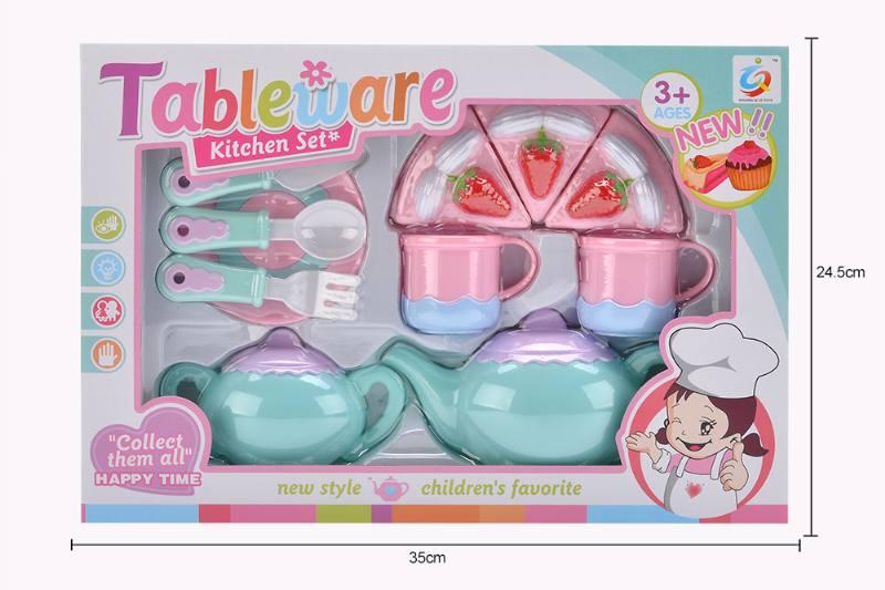 House toy macaron tea set No.TA253931