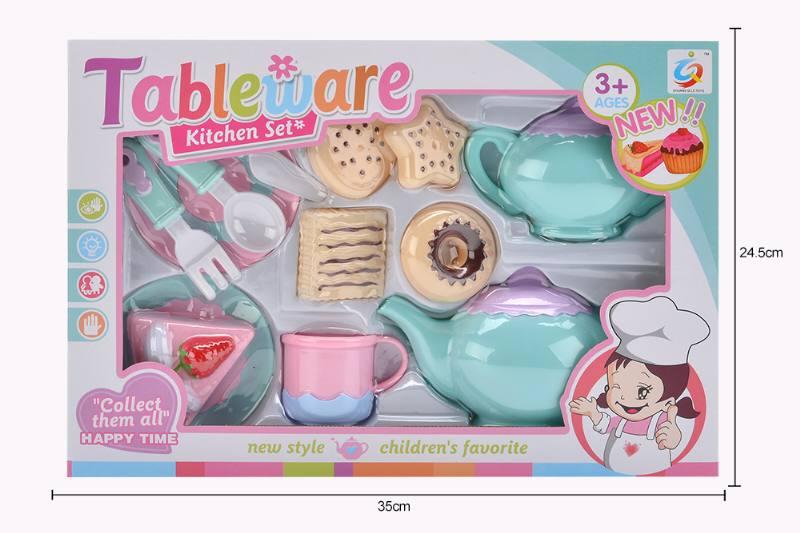 House toy macaron tea set No.TA253932