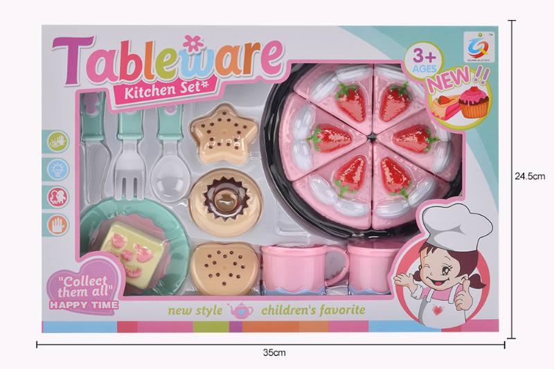 House toy macaron tea set No.TA253933