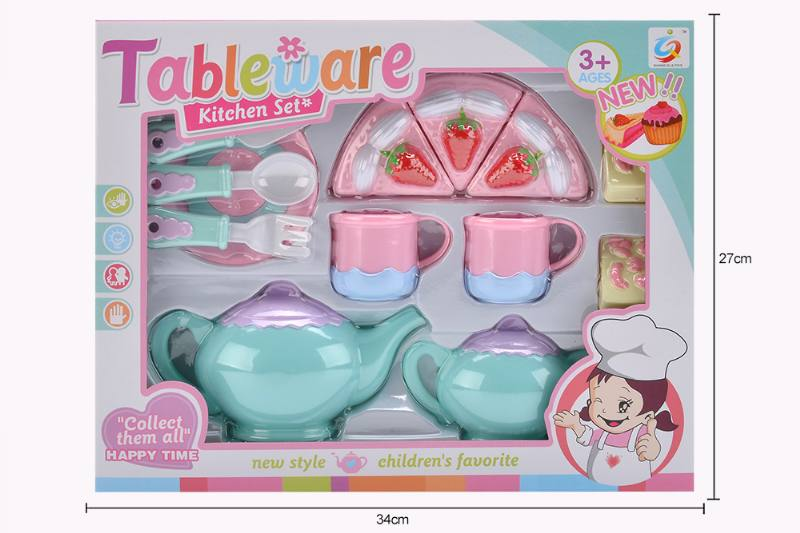 House toy macaron tea set No.TA253934