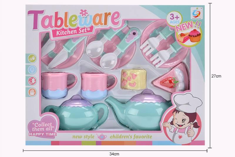 House toy macaron tea set No.TA253935