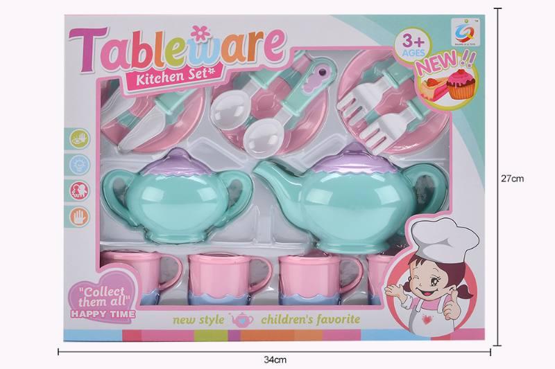 House toy macaron tea set No.TA253936