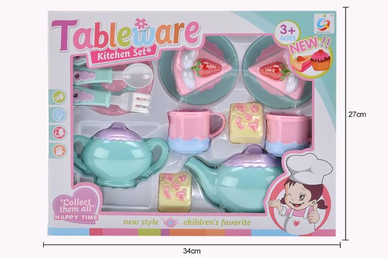 House toy macaron tea set No.TA253937