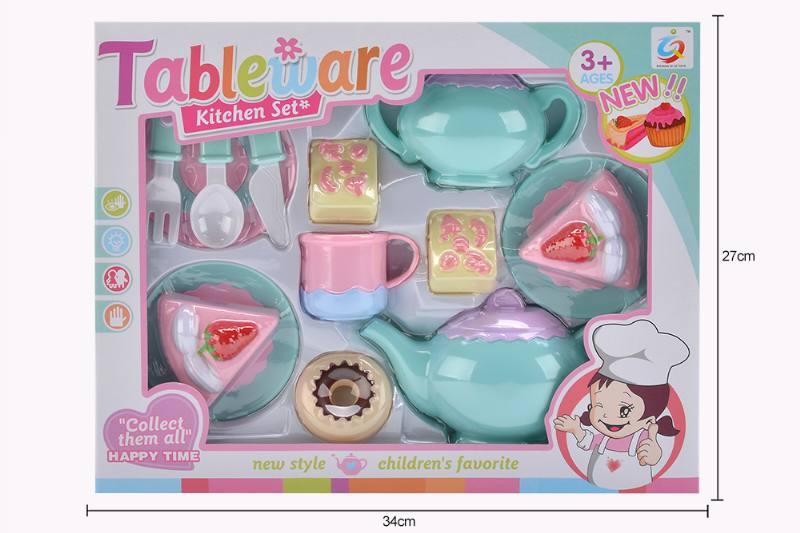 House toy macaron tea set No.TA253938