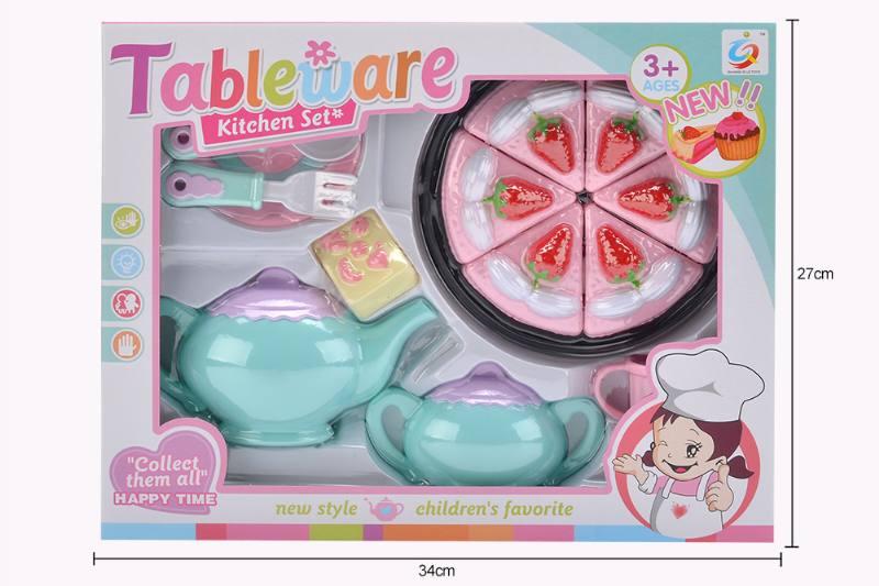 House toy macaron tea set No.TA253939