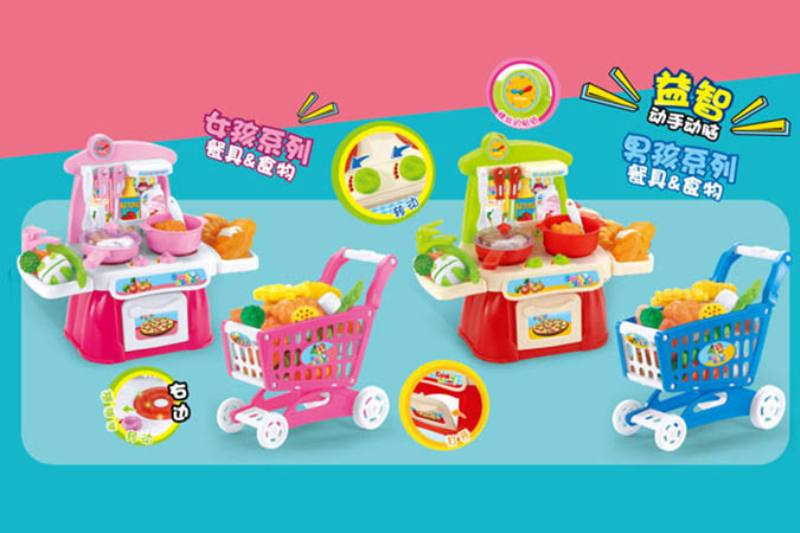 Pretend play house toys play house kitchen cooking toy No.TA254444