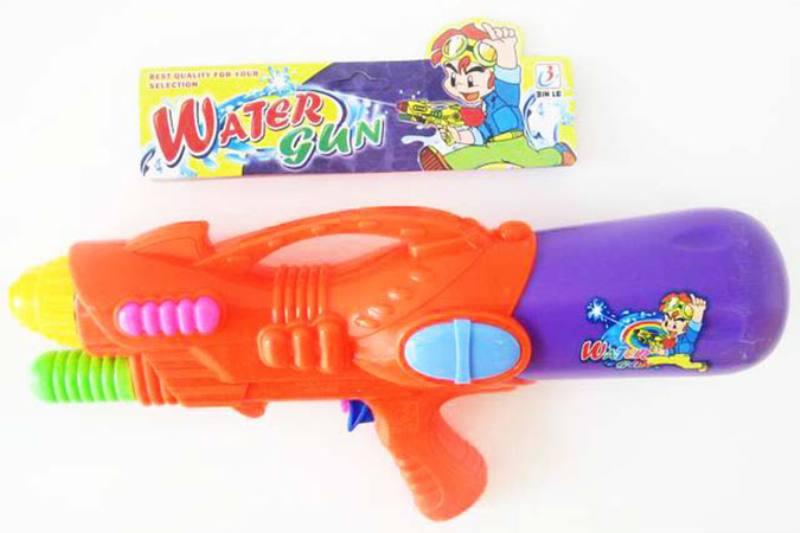 Water gun toy summer toy air pump (red, blue, yellow) No.TA253518
