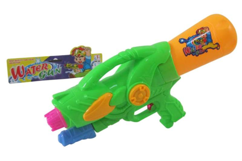 Water gun toy Summer toy Air gun (orange, blue and green 3 colors mixed) No.TA253519