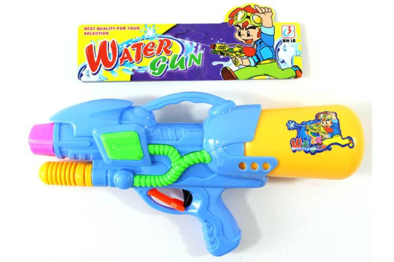 Water gun toy Summer toy Air pump (Orange / Sky Blue / Green 3 colors mixed) No.TA253520