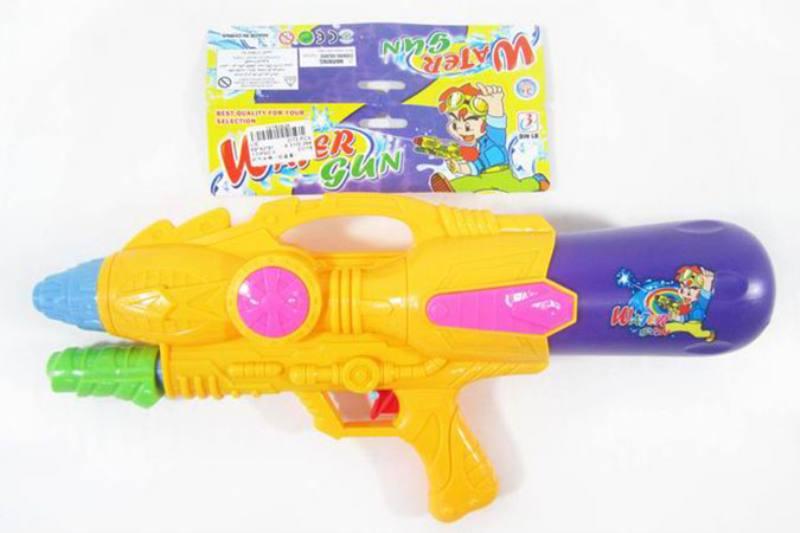 Water gun toy summer toy air pump (red, blue, yellow) No.TA253522