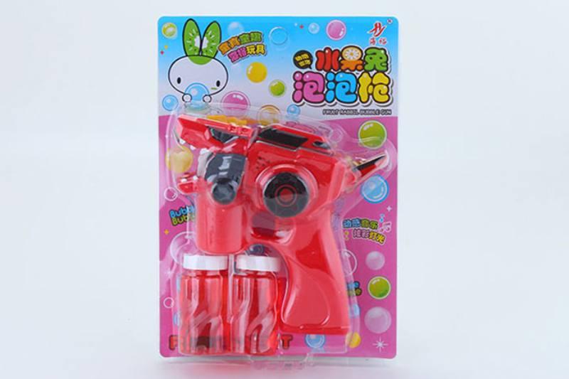 Bubble toy dinosaur gun light music bubble gun No.TA253456