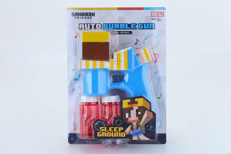 Bubble toy character gun light music bubble gun No.TA253948
