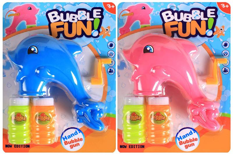 Blowing bubble toy Dolphin hand bubble gunNo.TA256571