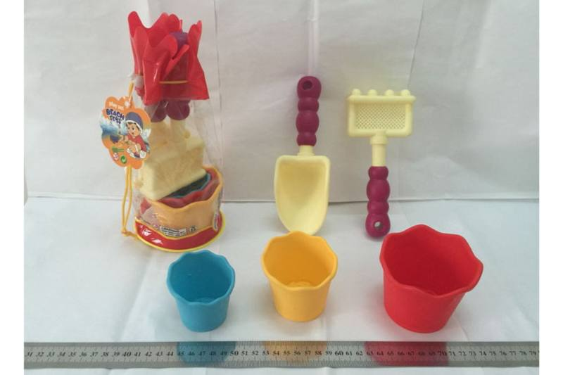 Frosted Beach Tool Set Beach Toys No.TA249512