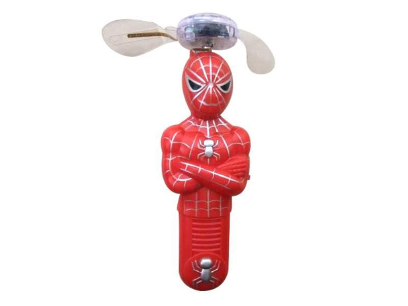 Cartoon Mini Fan Spiderman Fan (with light music) No.TA144615