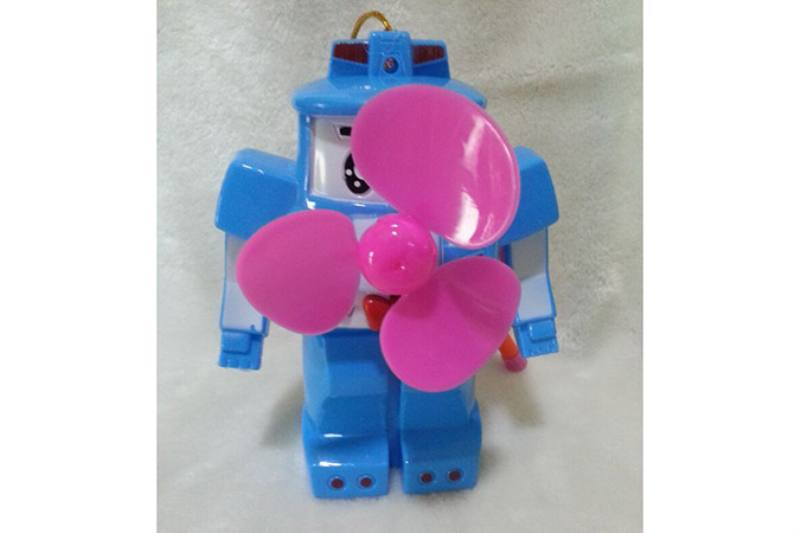 Fan toy flash fan poli police No.TA234728