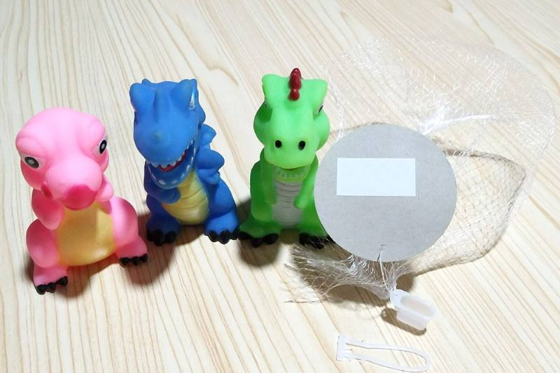Baby bath toys vilyn soft plastic animal toys with sound No.TA226886