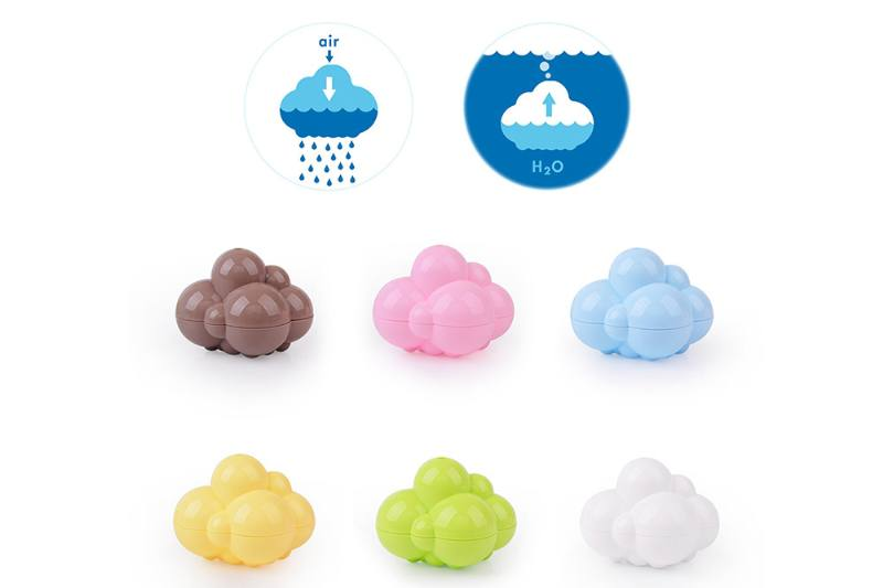 Bath Toys Colored Clouds Play Toys No.TA240156