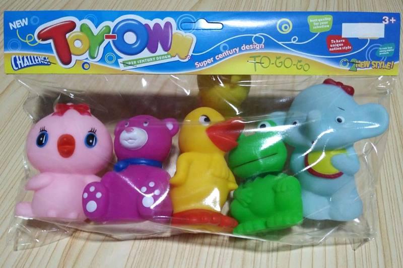 Vinyl toys soft plastic toys baby bath toys No.TA241942