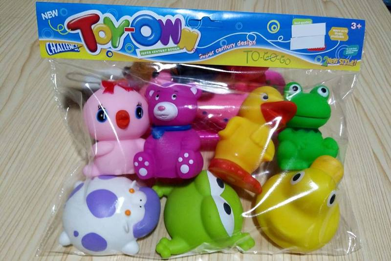 Vinyl toys soft plastic toys baby bath toys No.TA241944