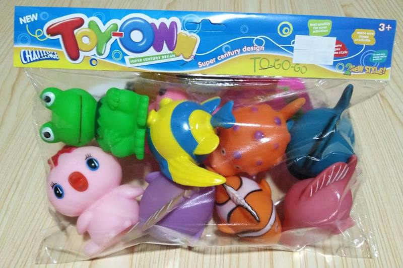 Vinyl toys soft plastic toys baby bath toys No.TA241945
