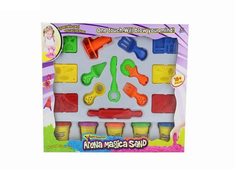 Play house toys 396g color space power technology sand accessories No.TA172784