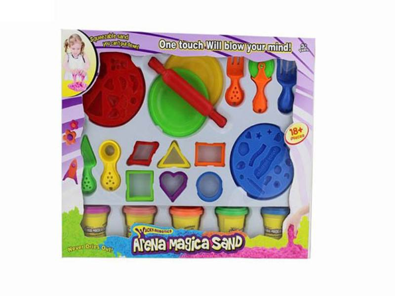 Play house toys 396g color space power technology sand accessories No.TA172785