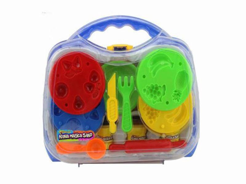Play house toys 396g Ming benzene box color space power technology sand accessories No.TA172788